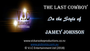 Jamey Johnson - The Last Cowboy - Karaoke Bars & Productions Auckland