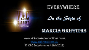 Marcia Griffiths - Everywhere - Karaoke Bars & Productions Auckland