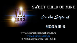 Monair B - Sweet Child of Mine - Karaoke Bars & Productions Auckland