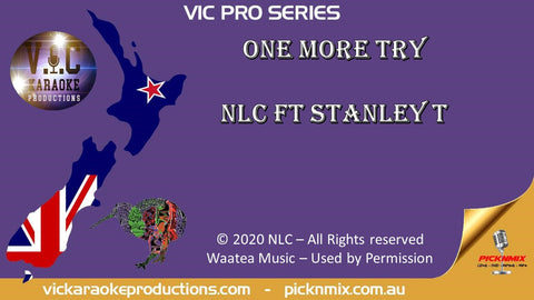 VICPS054 - NLC - One More Try - Pro Series