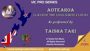 VICPS046 - Taisha Tari - Aotearoa (Land of the Long White Cloud) - Karaoke Bars & Productions Auckland