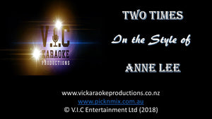Anne Lee - Two Times - Karaoke Bars & Productions Auckland