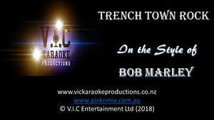 Bob Marley - Trench Town Rock - Karaoke Bars & Productions Auckland