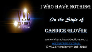 Candice Glover - I who have nothing - Karaoke Bars & Productions Auckland
