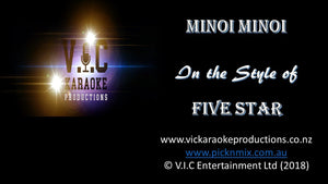 Five Stars - Minoi Minoi - Karaoke Bars & Productions Auckland