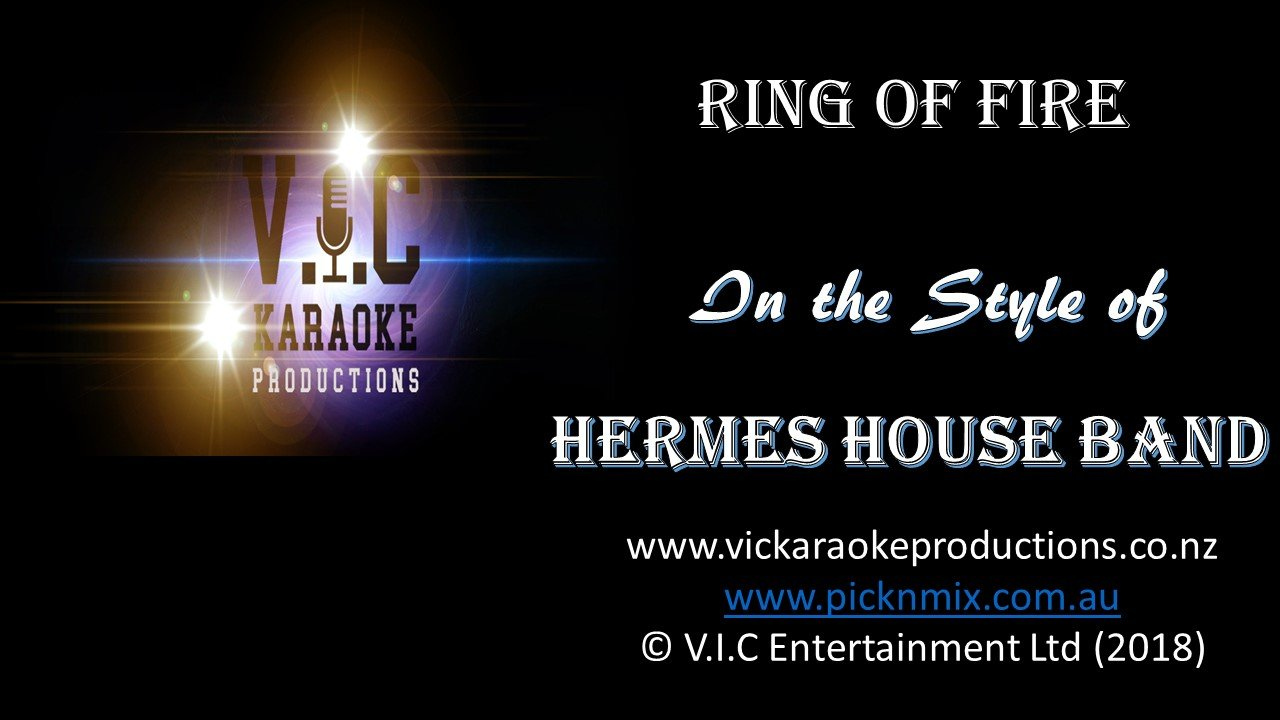 Hermes House Band - Ring of Fire - Karaoke Bars & Productions Auckland