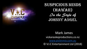 Johnny Angel - Suspicious Minds (Live) - Karaoke Bars & Productions Auckland