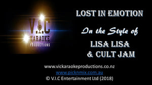 Lisa Lisa & Cult Jam - Lost in Emotion - Karaoke Bars & Productions Auckland