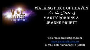 Marty Robbins & Jeanne Pruett - Walking Piece of Heaven - Karaoke Bars & Productions Auckland