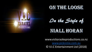 Niall Horan - On the Loose - Karaoke Bars & Productions Auckland