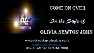 Olivia Newton John - Come on Over - Karaoke Bars & Productions Auckland