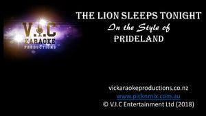Pride Land - The Lion Sleeps Tonight - Karaoke Bars & Productions Auckland