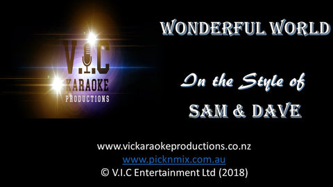 Sam & Dave - Wonderful World-karaoke-[Download-Karaoke-Songs]-[Karaoke-Gigs-Auckland]-[Karaoke-DJ-Auckland]-vickaraokeproductions.co.nz