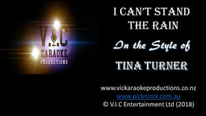 Tina Turner - I can't stand the rain - Karaoke Bars & Productions Auckland