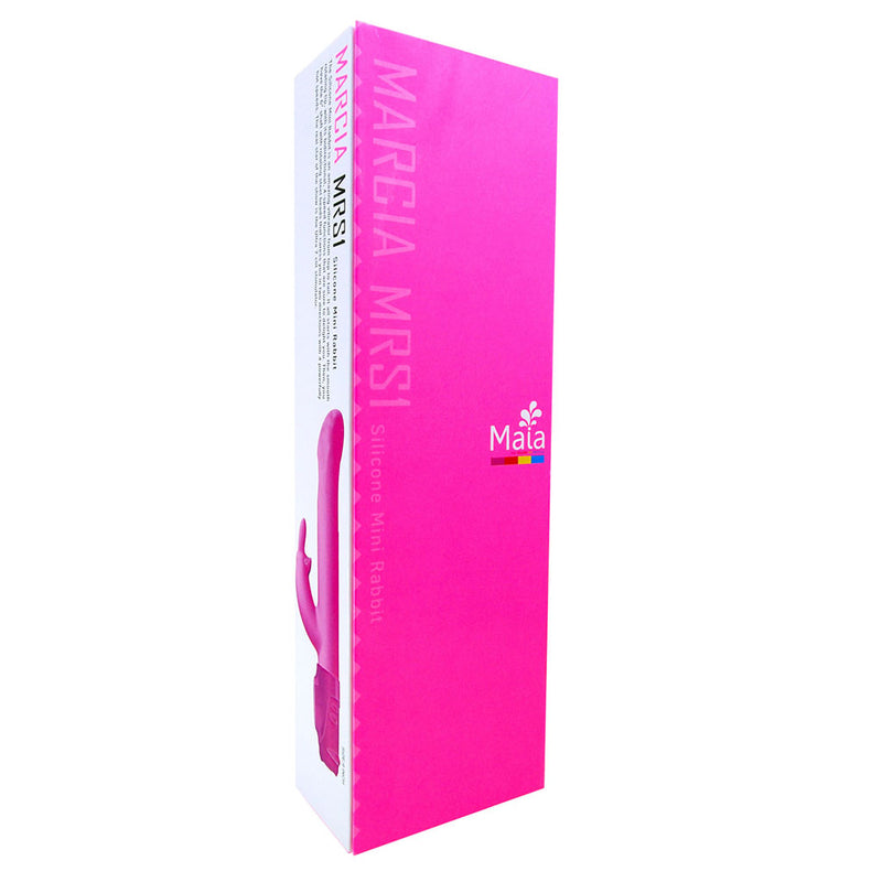 ALBA Silicone Rotating Vibrator 7/3 Functions - NEON PINK