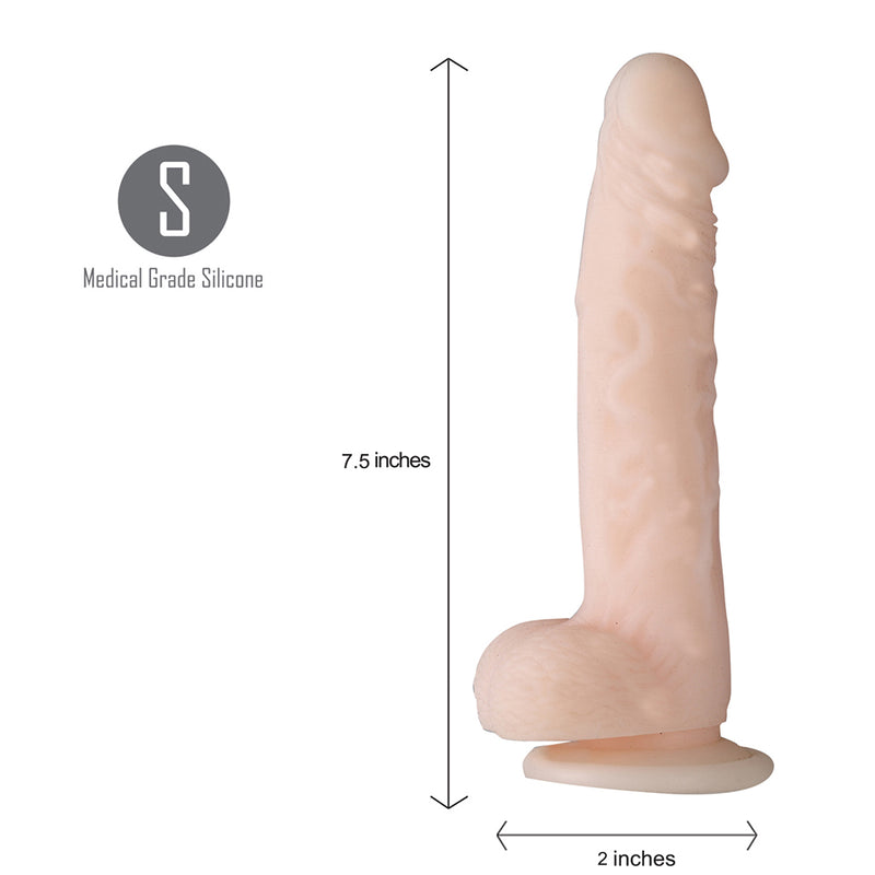 AVERI 9-Inch Silicone Realistic Suction Cup Dong