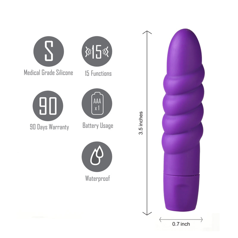 SUGR Twissty 15-Function Mini Bullet