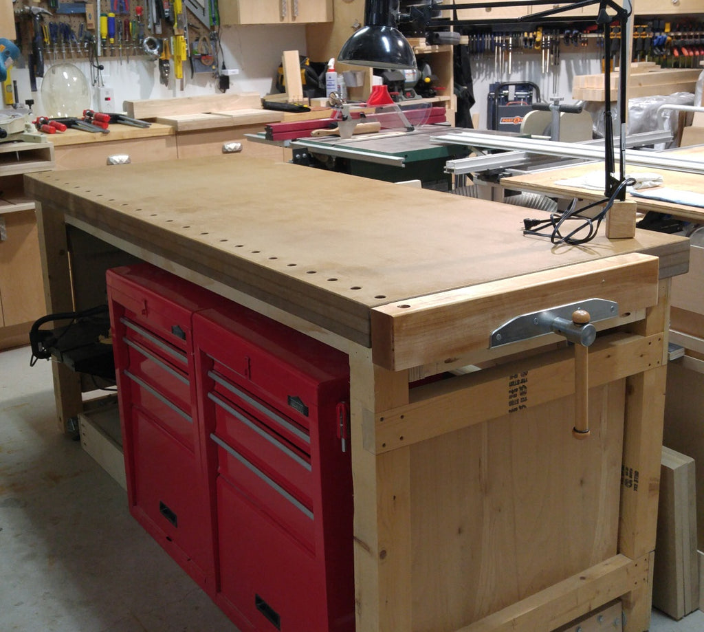 Todd's MDF Benchtop