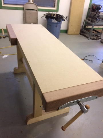 Make Your Workbench From Mdf Plywood Robcosman Com
