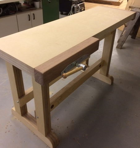 Marvelous Newsletter Article Why I Build My Workbenches Out Of Mdf Pabps2019 Chair Design Images Pabps2019Com