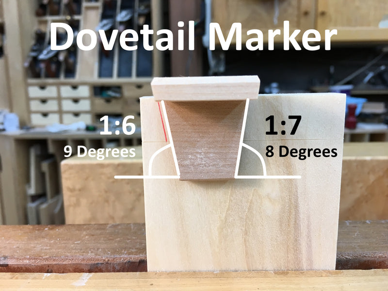 Rob Cosman's Dovetail Markers