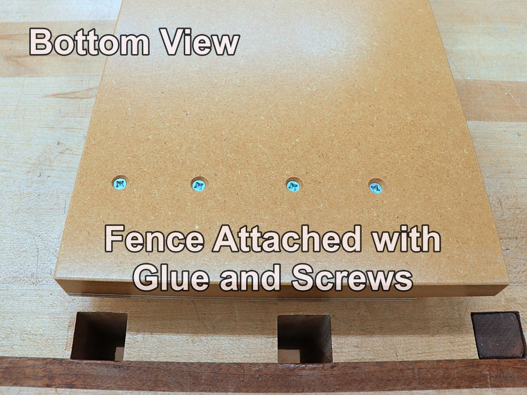 12inch shooting board fence attachment