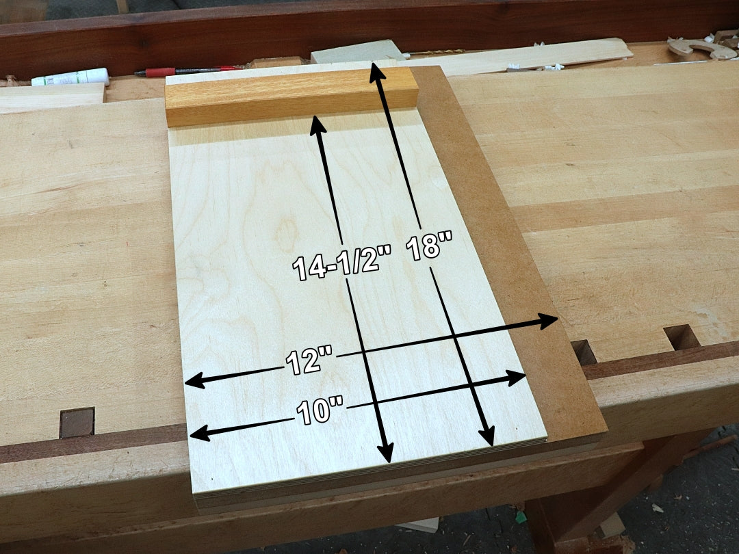 Rob Cosman's Shooting Board: 18 inches