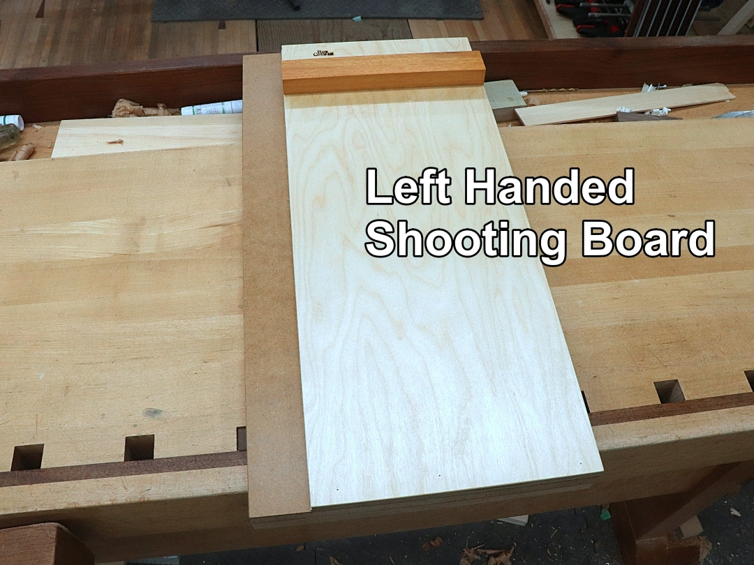 Left handed Rob Cosman shooting board