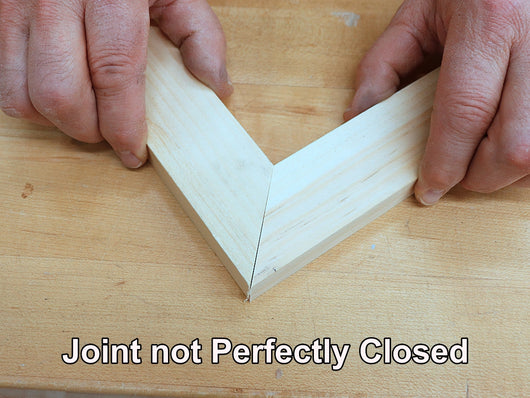 Miter Joint not closed