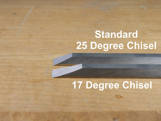 Cosmanized 17-Degree Chisel: 1/4 inch