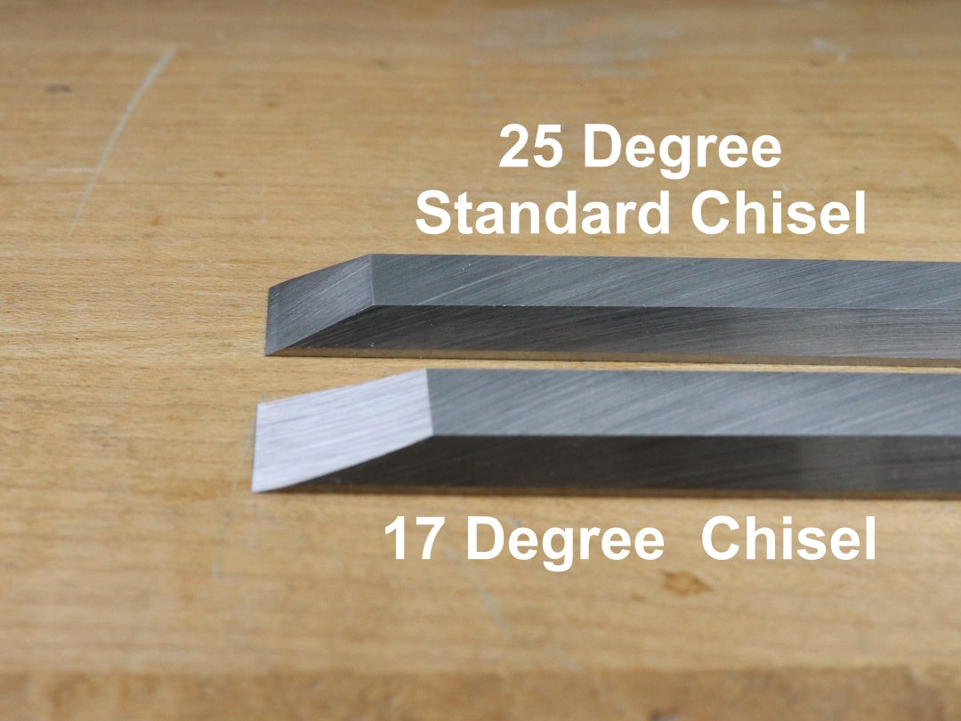 Cosmanized 17-Degree Chisel: 1/2 inch