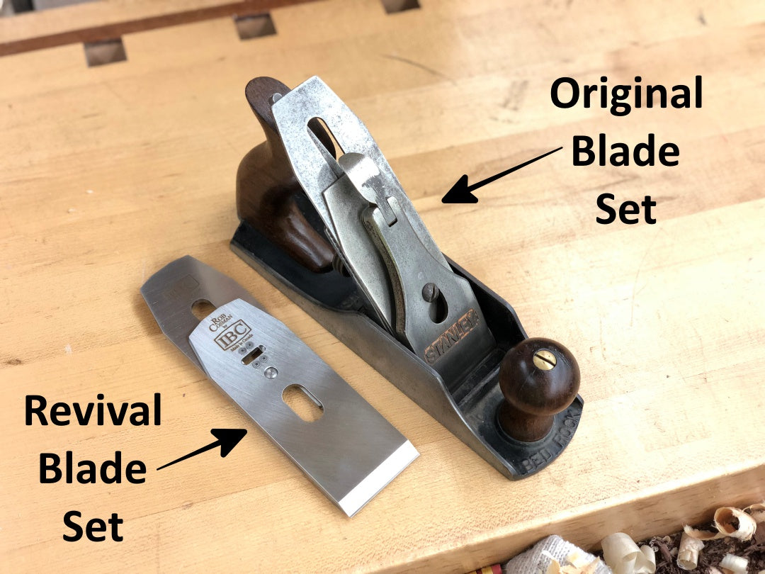 IBC/Rob Cosman Revival Plane Blade Set (2-5/8 inches)