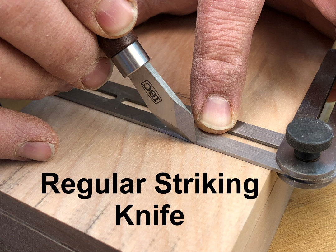 IBC regular striking knife in use