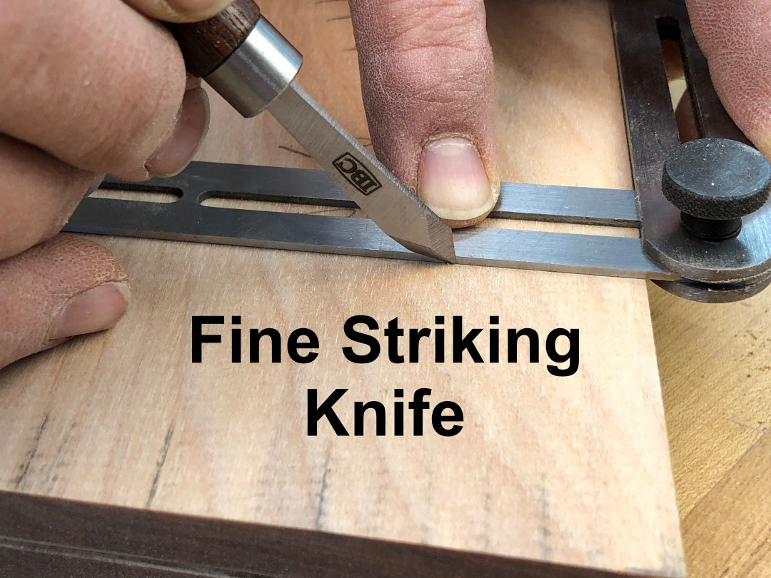 IBC fine striking knife being used