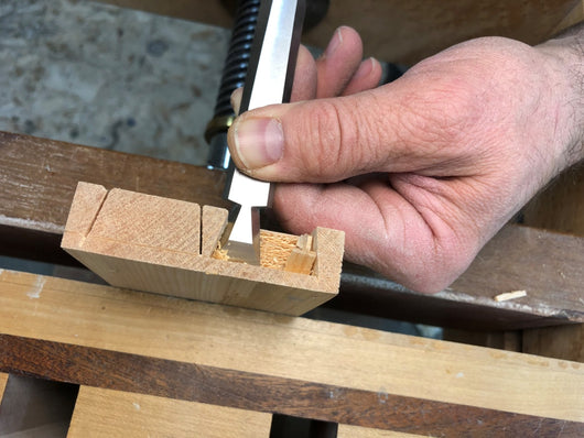 Cosmanized Half-Blind Chisels: WoodRiver 5/8 Inch
