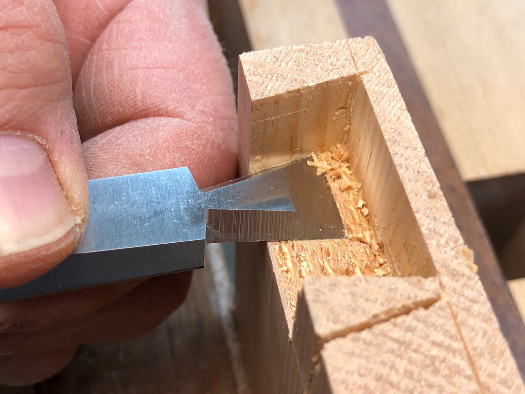 Cosmanized Half-Blind Chisels: WoodRiver 3/8 Inch