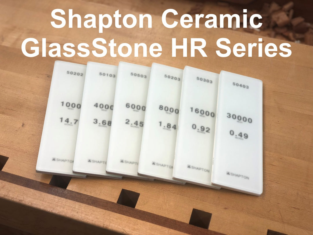 Shapton 8,000 Ceramic HR Glass Stone