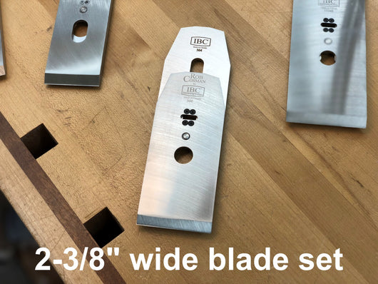 IBC/Rob Cosman Revival Plane Blade Set (2-3/8 inches)