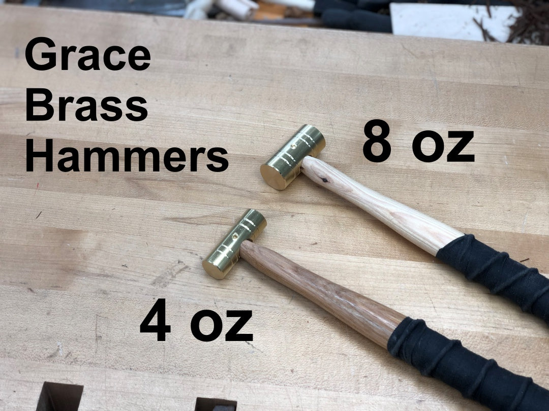 Cosmanized Brass Hammer: 4oz