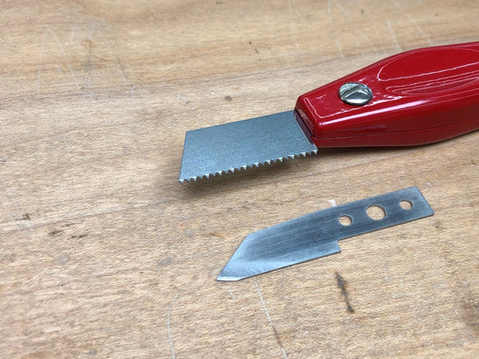 Rob Cosman's Dovetail Marking Knife with Saw Tooth Blade