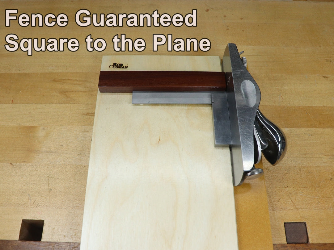 12 inch shooting board fence square to plane