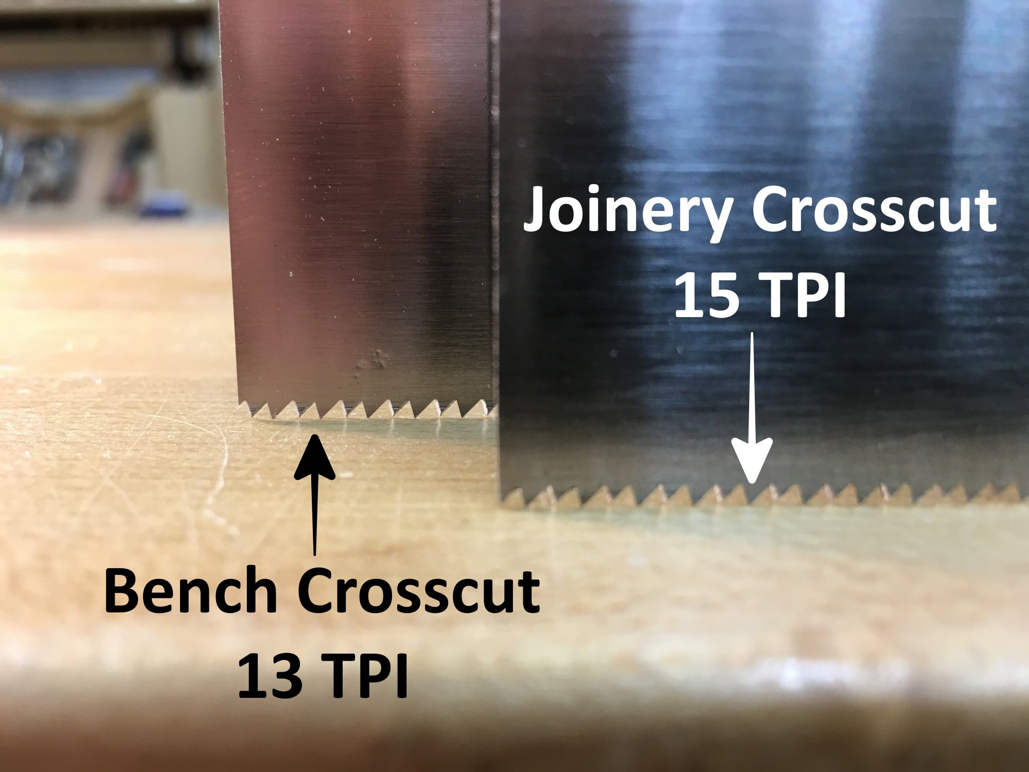 Rob Cosman's Professional Bench Crosscut Saw