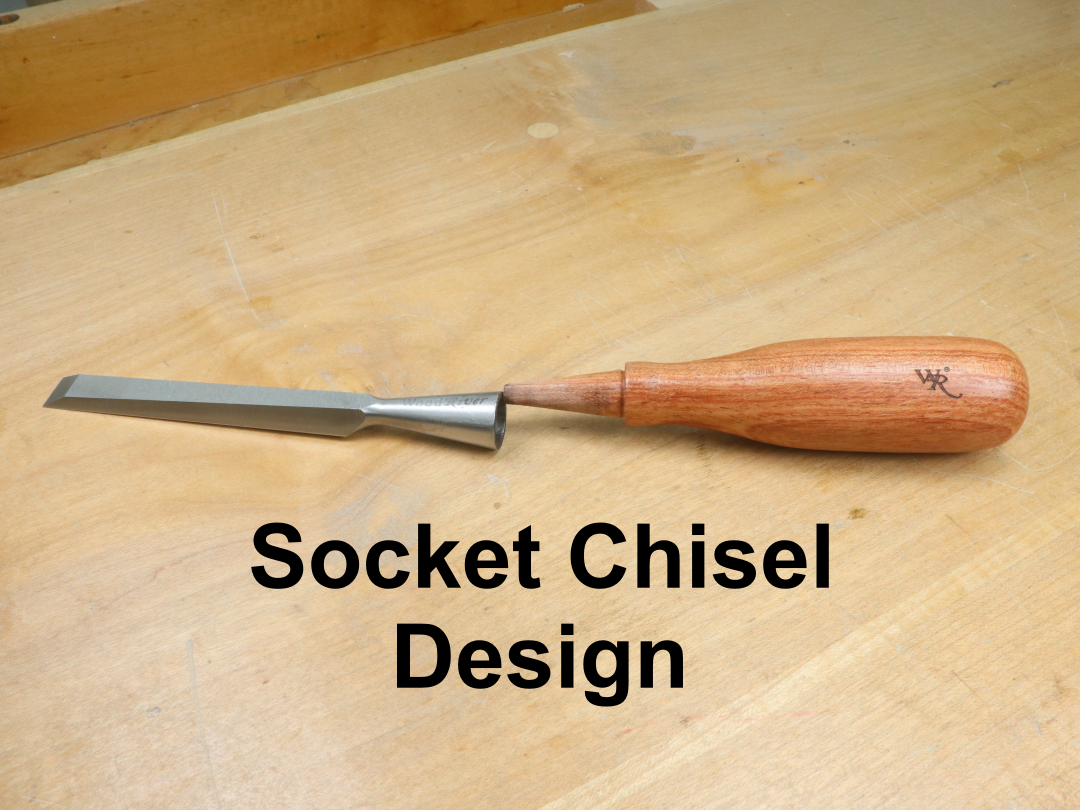 WoodRiver Bench Chisel - 3/8 inch