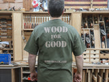 Rob Cosman T-Shirt Wood for Good back