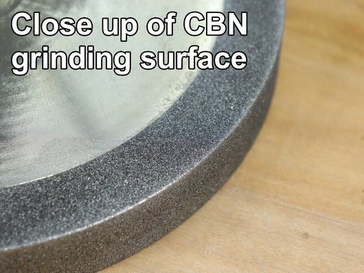 Rob Cosman's CBN Grinding Wheel