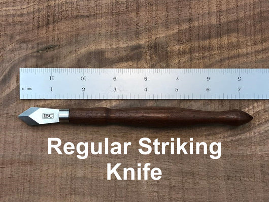 IBC regular striking knife with ruler