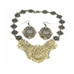 Gold Bronze Statement Set