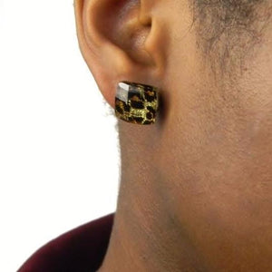 Minimalist Animal Print Stud Earrings