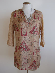 Island Tunic M/L (One-of-a-Kind + Available in Multiple Colors)