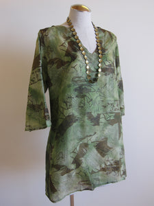 Island Tunic S/M  (One-of-a-Kind + Available in Multiple Colors)